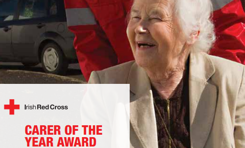 Nominate the Irish Red Cross Carer of the Year 2015!