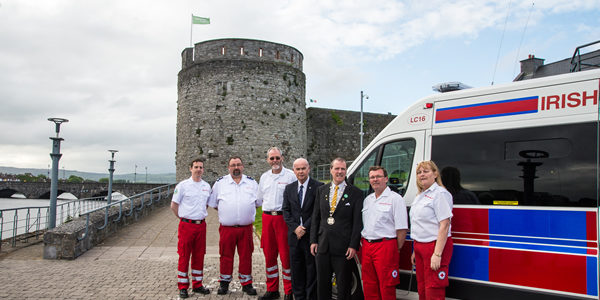 Red Cross launches new ambulance in Limerick