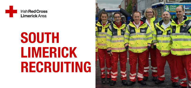 South Limerick Red Cross Recruiting