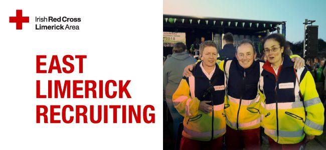 East Limerick Red Cross Recruiting