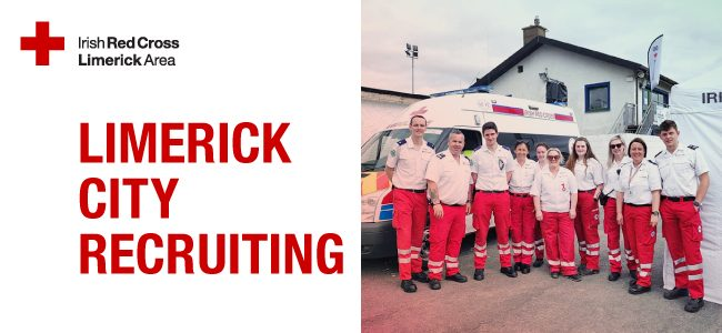 Limerick City Red Cross Recruiting